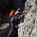 Kurze Kraxelei am Col de Ciampac