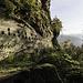 Erhalten sind von der Unterbourg zahlreiche Felsenkeller und Mauerreste.