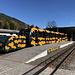 Puchberg am Schneeberg - Blick auf einen abfahrbereiten Salamander-Zug (Baby 2, 32/22/12).