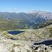 Fast oben, ein letzten Blick auf das Bergseeli.