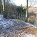 Houžetín, Nordflanke, Wallgrabenrest