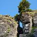 Kletterei im Felsenfenster