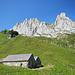 Die Fählentürm über der Alp Häderen