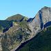 La parete sud del Sumbra e dietro il monte Fiocca