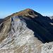 il monte Fiocca visto salendo al Sumbra