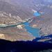 il lago di Vagli e l'ombra del monte Sumbra