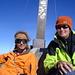 Alex und ich ([u mali]) auf dem Gipfel.