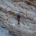 Eine Art Klettersteig (ohne Drahtseil) unter dem Pass...in der Üsserschwiiz wäre da sicher eine blau-weisse Markierung