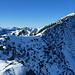 eigentlich nur noch wenige Meter bis zum Gipfel der Aiplspitze, aber ich bin für heute restlos bedient