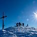 Gipfelstunde (für eine Stunde war's allerdings zu kalt)