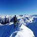 sguardo verso le cime della Bergamasca