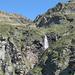La cascata prima dell'Alpe Piei