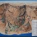 Ein Gedi - Mappa Itinerari