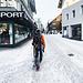 Zurück in Andermatt steht noch ei nFußweg durchs Dorf an