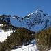 Rappenklammspitze vom Zugangsweg