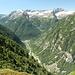 La Val Vegornèss vista in direzione di Sonogno