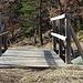 Brücke über die Druckleitung