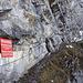 Aufstieg zum Klettersteig, der stand heute nicht auf meinem Programm