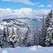 Aussicht auf Gross von der Alp Unter Hummel