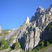Freiheit im Schatten zwischen Hundstein und Rot Turm, links Nadlenspitz