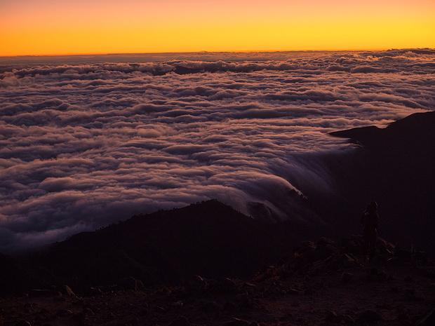 Über dem Wolkenmeer 2