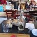 E in un baleno, tra la prima e la seconda foto, eccomi già a tavola!<br />Villa Olimpia, Pallanza.