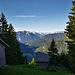 An den Bergzigeunerhütten mit tollem Blick ins Lechtal
