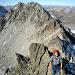 Giovanni impegnato sulla cresta WNW.