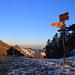 Tour vom 2.2.2020:<br /><br />Die Gwidenhöchi (998m) zwischen Gwidenglue und dem Ruchen ist erreicht.