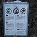 Tour vom 2.2.2020:<br /><br />Warnung unterhalb der Belchenflue vor der Schweinepest. Interessant ist, dass die Warnung nur in Sprachen angeschrieben ist für Leute aus Nationen die auch sich auch oft und gerne ohne Auto in der Natur bewegen :-)