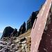 dal bivacco Aronte sguardo sulla Punta Carina