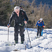 Bernhard und Birgit beim Aufstieg