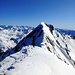 la bella cresta che collega l'antecima alla cima vera e propria del Torena