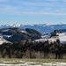 die letzen schönen Ausblicke über das hügelige Appenzellerland bevor es mit der Zahnradbahn hinunter zum Ausgangspunkt Rorschach geht.
