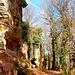 Zunächst einmal umrundeten wir das Kloster, um das faszinierende Felsenriff in Augenschein zu nehmen, auf dem es errichtet wurde.