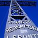 Ja, CHRISTO, ist hier oben gross geschrieben – 10 Meter Kreuz; und dann der Himmel!