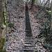 die nächste Treppe wartet, ich habe die Stufen nicht gezählt