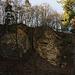 Nordseitige Felsen vom Sulzchopf die ein kleines Naturschutzgebiet sind.