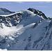 die Nordwand von Peterchens Spitze ist recht blank