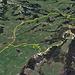 meine GPS Aufzeichnung mit der GPS Uhr Suunto Ambit3 peak hr, den Wanderweg vom Ramsen Parkplatz hinunter nach Zurchersmühle ist eher ein reiner Wanderweg und ist für unerfahrene E-Biker nicht zu empfehlen.