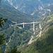 Auch vom Gibjeriweg imposanter Tiefblick auf die Ganterbrücke