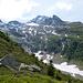 Das grosse Schneefeld und das Wasenhorn