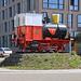 Lustiger Kreisel mit Bierlokomotive in Rheinfelden (265m).