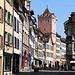 An diesem Samstag war die Altstadt Rheinfeldens (265m) wie ausgestorben, da alle Geschäfte wägen dem sich verbreiteten, aber eigentlich für normal gesunde Menschen harmlosen Coronavirus geschlossen bleiben müssen