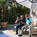 Virusfreies Feiern beim Bruder mit Corona - Prost !!! :-)