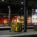 Heute morgen am Gründonnerstag, wohl wegen der Covid-19 Pandemie, war nahezu kein Mensch am Bahnhof von Olten (396m).