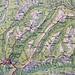Tour beginnend beim Paradisli (776 Meter) auf den Napf und via Stächelegg über Oberänzi (1348 Meter) nach Wolf (735 Meter) und zum Ausgangspunkt Paradisli zurück.