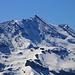Morgenberghorn (2248,8m): Gipfelaussicht zum Doldenhorn (3638m) das zur Zeit wohl perfekte Bedingungen für eine Skitour bietet!