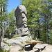 Naturdenkmal Sieben Felsen, aus Wollsackverwitterung enstanden. Urgestein zwischen 4500 und 280 Mio.Jahre