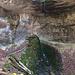 Beim hinteren, grossen Wasserfall.